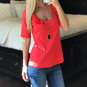 New York and Company Coral Top